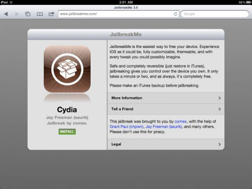 Jailbreak Ipad Iphone With Ios Fix Pdf Exploit Obama.