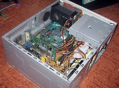 Радиатор для процессора своими руками